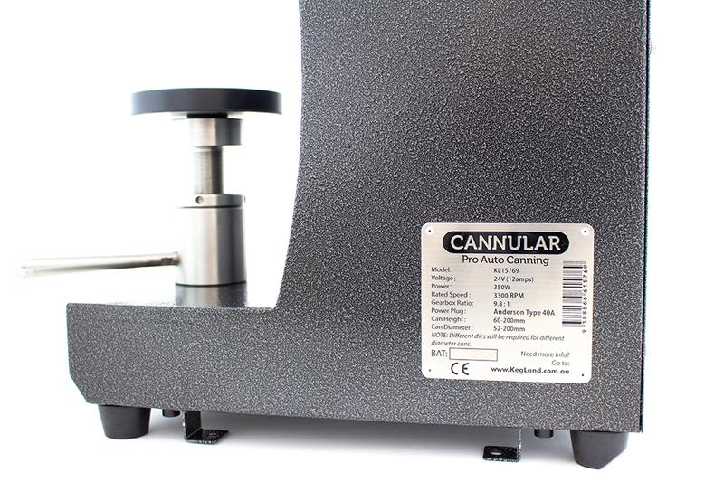 Cannular Semi-Auto Pro Can Seamer