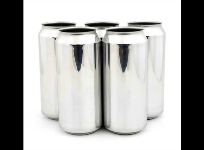 440ml Sølv Ølboks - 162stk